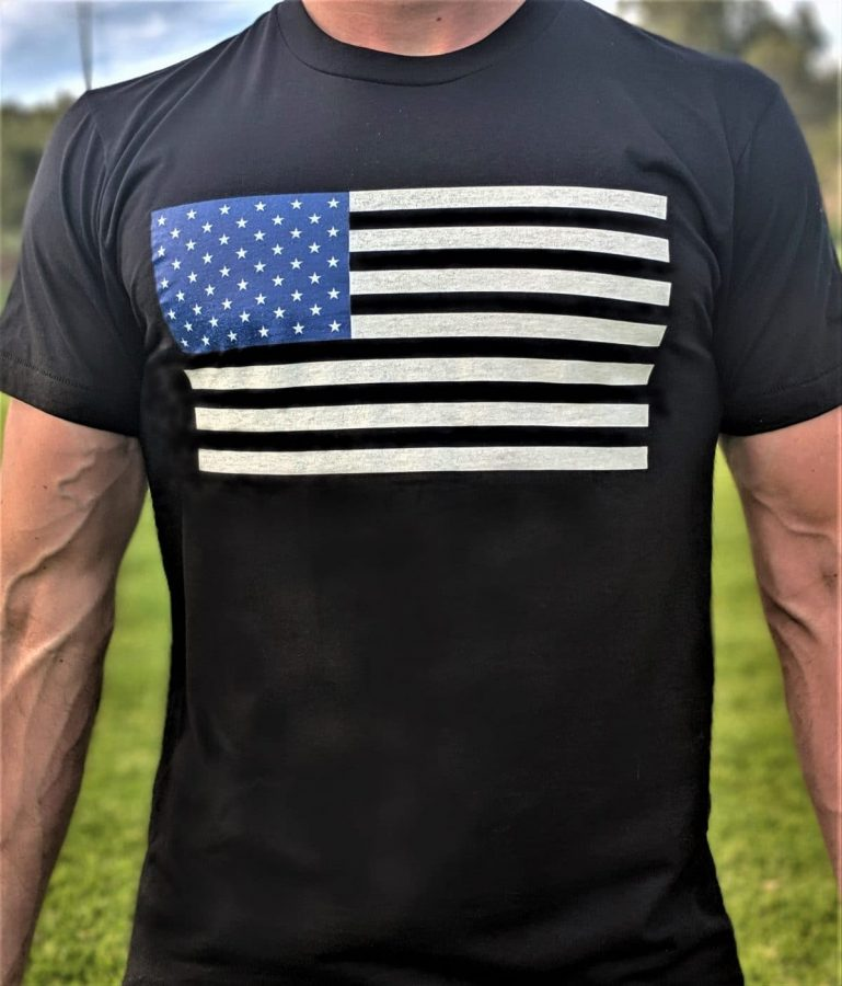 Unapologetic American T-Shirt Front View