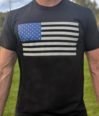 Unapologetic American T Shirt Front View