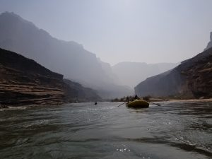 Rowing Down The Colorado River