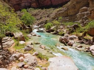 Trail to Beaver Falls, Havasu Canyon