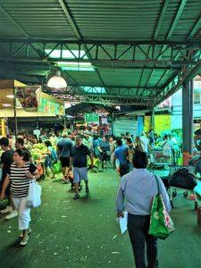 Non-Tourist Market of Santiago, Chile