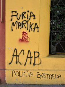 Chilean Revolution Graffiti