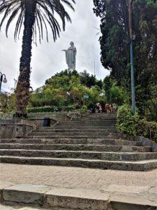 San Cristóbal Park from Santiago, Chile Travel