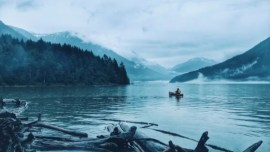 Canoeing It to the Lake Without Purpose