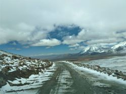 Mountain Roads in the Andes